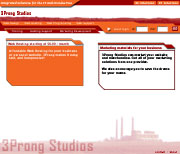 3ProngStudios sample home page